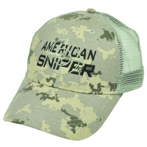 American Sniper Camouflage Camo Hat Cap Snapback Green Kyle Navy Seal Mesh