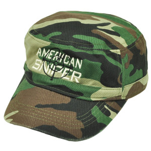 American Sniper Cadet Fatigue Green Camouflage Camo Hat Cap  War Relaxed