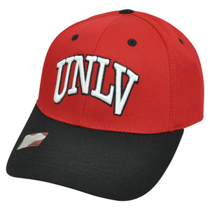 NCAA UNLV Las Vegas Running Rebels Twill Two Tone Snapback Adjustable Hat Cap