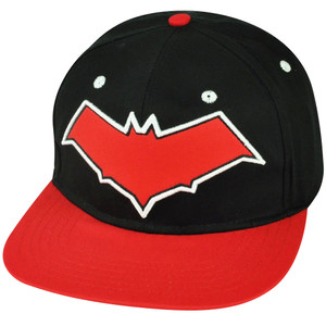 Batman Arkham Knight Video Game Snapback Flat Bill Hat Cap Super Hero Black Red