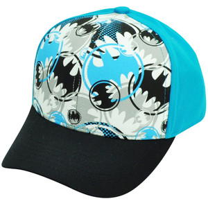 Batman Warner Bros DC Comics Cartoon Super Hero Youth Snapback Hat Cap Comic