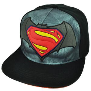 Batman Vs Superman Dawn of Justice Super Hero Movie Snapback Hat Cap Flat Bill