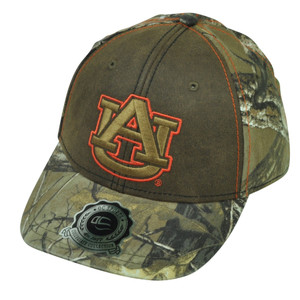 NCAA Auburn Tigers OC Sports  Real Tree Camouflage Camo Hat Cap Adjustable