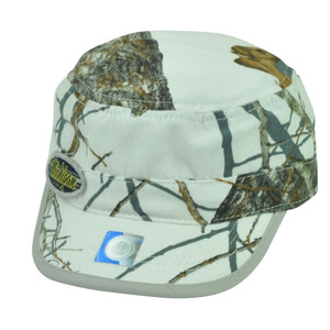 NCAA Michigan Wolverines Fatigue Cadet Military Hat Cap Camouflage Mossy Oak