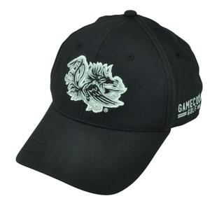 NCAA South Carolina Gamecocks Golf Sun Buckle Hat Cap Black Sports Adjustable