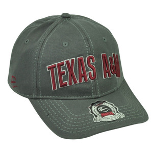 NCAA Texas A&M Aggies ATM Flex Fit Medium Large Pro Flex Stretch Hat Cap Grey