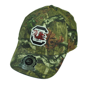 NCAA South Carolina Gamecocks Camouflage Camo Sun Buckle Hat Cap Mossy Oak Sport