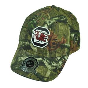 NCAA South Carolina Gamecocks Camouflage Camo Sun Buckle Hat Cap Mossy Oak Sport