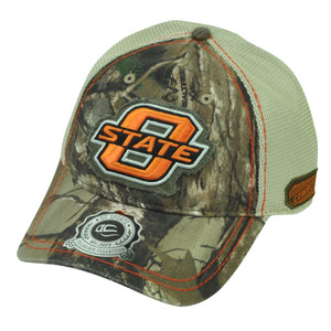 NCAA Oklahoma State Cowboys Mesh Sun Buckle Camouflage Camo Hat Cap OC Sports