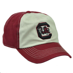 NCAA South Carolina Gamecocks Captivating Headgear  Hat Cap Two Tone Sport
