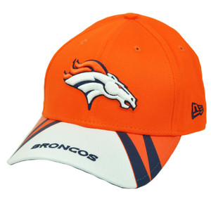 NFL New Era 9Forty 940 Jersey Play Denver Broncos  Hat Cap Orange White