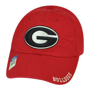 NCAA Georgia Bulldogs  Captivating Headgear Relaxed Slouch Hat Cap Dawgs
