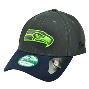 NFL New Era 9Forty 940 Seattle Seahawks 4th Down Snapback Hat Cap Adjustable