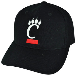 NCAA American Needle Cincinnati Bearcats Fitted Size 7 1/8 Black Hat Cap Sport