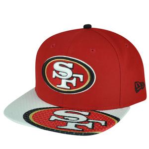 NFL New Era 9Fifty 950 Gym Class San Francisco 49ers Snapback Hat Cap Flat Bill