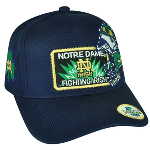NCAA American Needle Notre Dame Fighting Irish  Navy Blue Hat Cap Sport