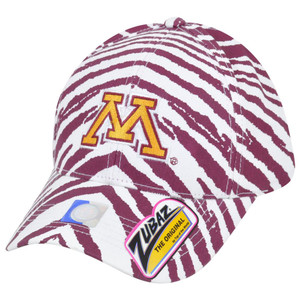 NCAA Minnesota Golden Gophers Top of the World Smash Zubaz Snapback Hat Cap