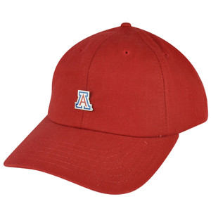 NCAA American Needle Arizona Wildcats Relaxed Red Sun Buckle Hat Cap Adjustable