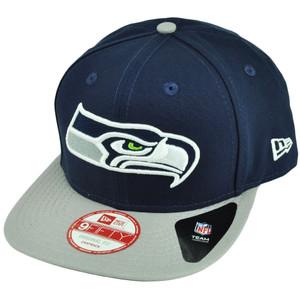 NFL New Era 9Fifty 950 Shore Snapper Seattle Seahawks Snapback Flat Bill Hat Cap