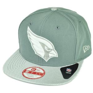 NFL New Era 9Fifty Flash Vize Arizona Cardinals Snapback Hat Cap Flat Bill Gray