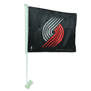 NBA Portland Trail Blazers 1 Car Window Flag Tailgate Game Sport Fan Black