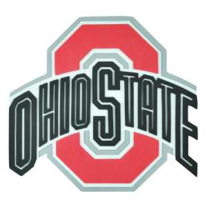 NCAA Ohio State Buckeyes 3D Hand Foam Fan Sport Game Logo Wall Sign Decoration