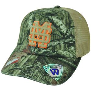 NCAA Mississippi State Bulldogs Camo Garment Wash Mesh Bounty Snapback Cap Hat