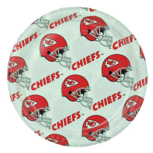 NFL Kansas City Chiefs 24 Set Fork Plate Napkins Party Ware Fan Sport Football