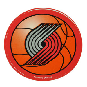 NBA Portland Trail Blazers Stickers Decal Decoration Sport Fan Basketball Red