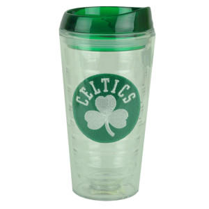 NBA Boston Celtics Slime line16oz Tumbler Lid Translucent Cup Design Water Drink
