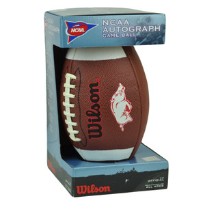 NCAA Arkansas Razorbacks Wilson Official Size Football Sport Game Day Fan Brown
