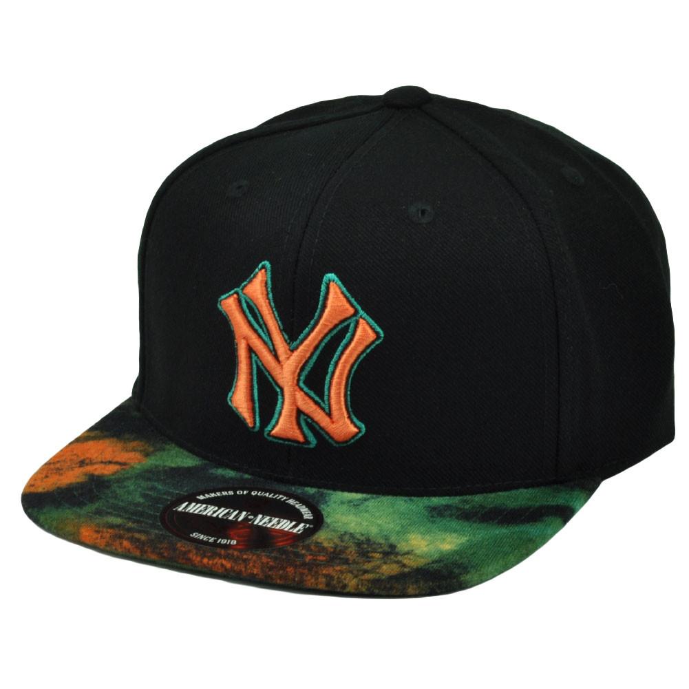 f6386975d7e2f MLB American Needle New York Yankees Clip Buckle Flat Bill ...