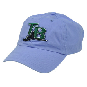 MLB Tampa Bay Rays Women Ladies Sun Buckle Relaxed Slouch Purple Hat Cap Sport