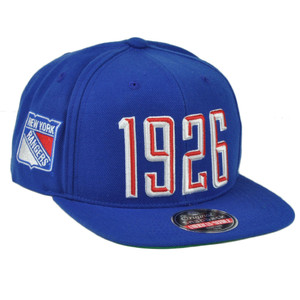 NHL American Needle New York Rangers Flat Bill Snapback Blue Hat Cap1926 Spotr