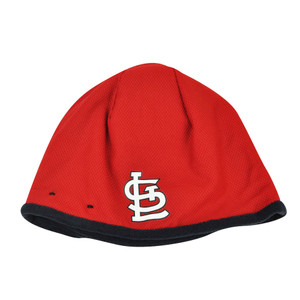 MLB New Era 2015 Tech Knit Beanie St Louis Cardinals Cuffless Toque Hat Winter