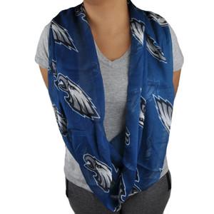 NFL Philadelphia Eagles Knitted Infinity Scarf Winter Fashion Women Ladies Blue