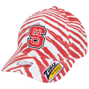 NCAA North Carolina State Wolfpack Top of the World Smash Zubaz Snapback Hat Cap