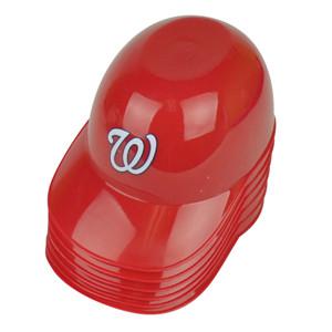 MLB Washington Nationals Baseball Snack Helmet Collectible Bowl Cup Rawlimgs