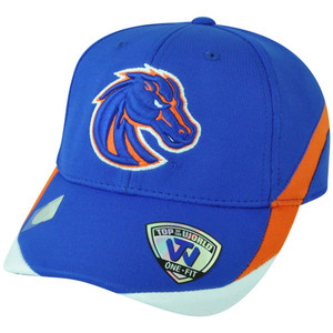 NCAA Boise State Broncos The Rookie Top the World Flex Fit  6 1/2- 6 7/8 Hat Cap