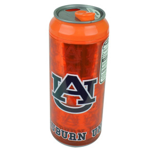 NCAA Auburn Tigers Cool Gear Beer Can Tumbler Cup 16oz BPA Free Insulated Orange