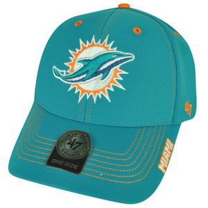 NFL '47 Brand Forty Seven Miami Dolphins Dark Twig  Hat Cap Adjustable