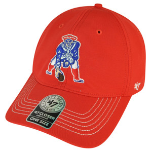 '47 Brand Forty Seven New England Patriots Flex Fit One Size Game Time Hat Cap