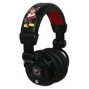 NCAA South Carolina Gamecocks DJ Style Headphones Music Loud Iphone Microphone