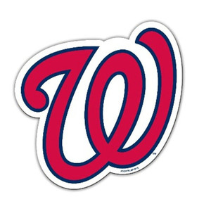 "MLB Washington Senators 12"" Team Logo Magnet Vinyl Decor Auto Office Home Car"