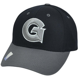 NCAA Georgetown Hoyas Bulldogs Twill Cotton Two Tone Snapback Adjustable Hat Cap