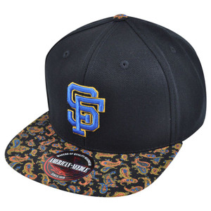 MLB American Needle San Francisco Giants Cooley High Paisley Strapback Hat Cap