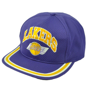 Los Angeles Lakers Dead Stock Vintage Old School Snapback Hat Cap Basketball