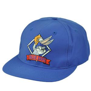Toronto Blue Jays Looney Tunes Vintage Snapback Hat Cap Mens Bugs Bunny Baseball