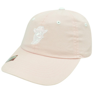 NCAA New Mexico State Aggies Women Ladies Garment Wash Sun Buckle Pink Hat Cap