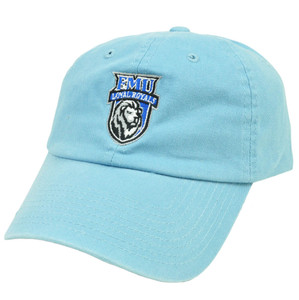 NCAA EMU Eastern Mennonite Loyal Royals Slouched Relaxed Fit Top World Hat Cap